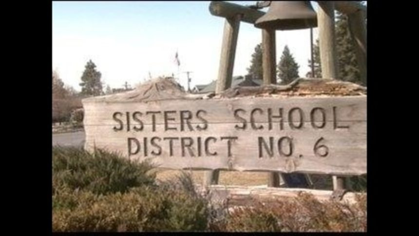 Sisters School District sign