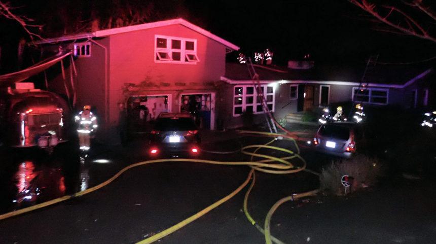 Turkey smoker fire Portland Fire & REscue 1128