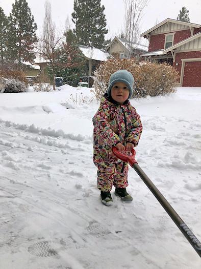Clara wants to shovel Jessie Steele 1127