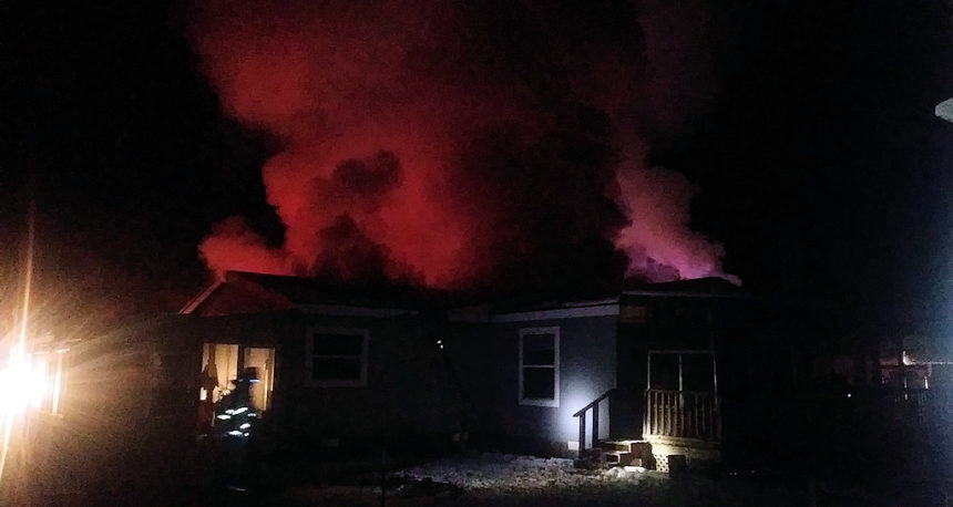 Crescent house fire Kaehn Road Devon Quinalt
