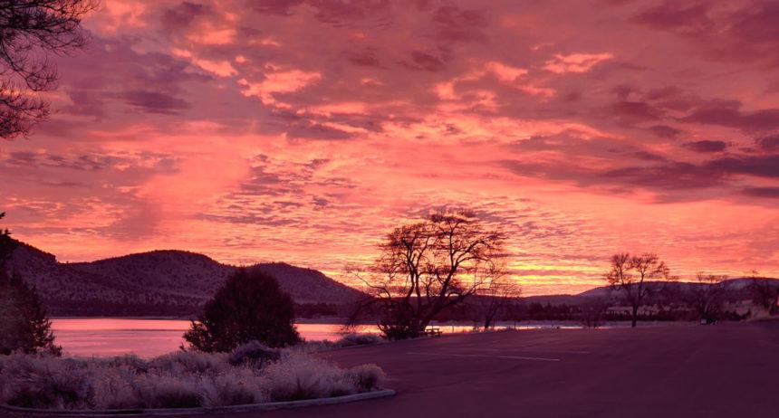 Haystack Reservoir sunrise Robert Doyle 1228