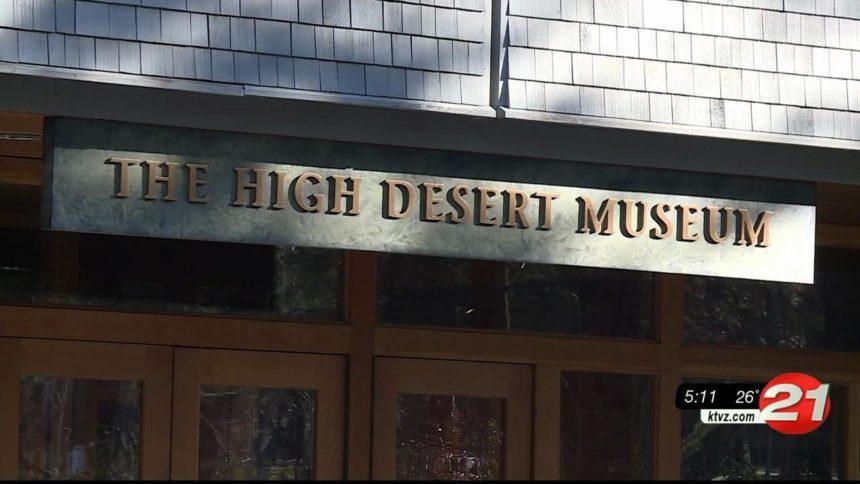 High Desert Museum sign