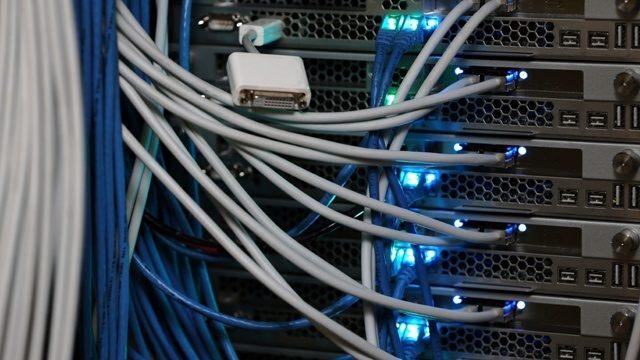 Internet servers broadband