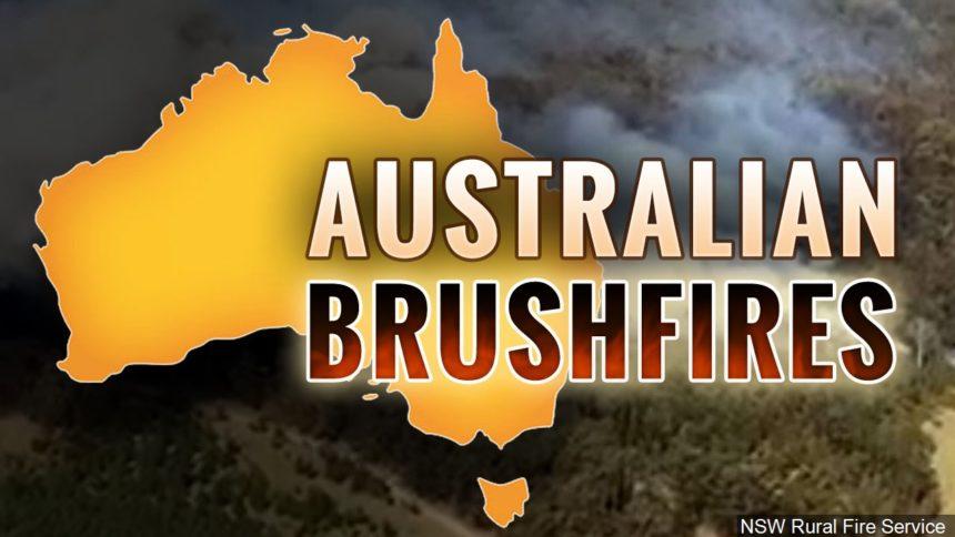 Australian brushfires MGN