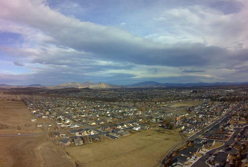Redmond kite aerial Larry Cole 1221