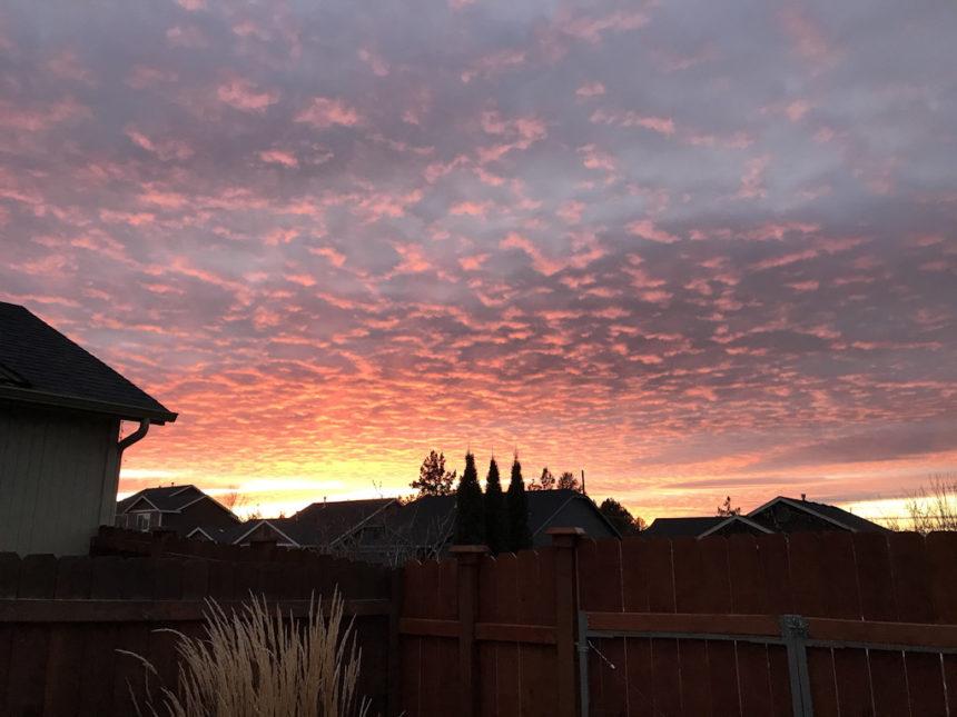 Redmond sunset Michele Tyo 1227