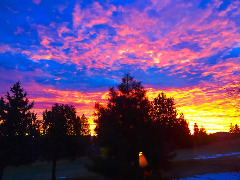 River's Edge sunrise Helen Lewis 1228