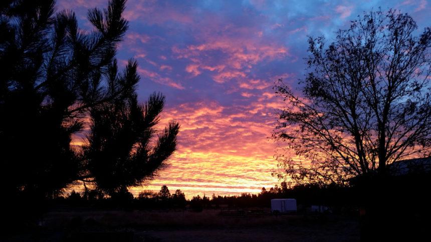 SE Bend sunrise Ed Sink 1228