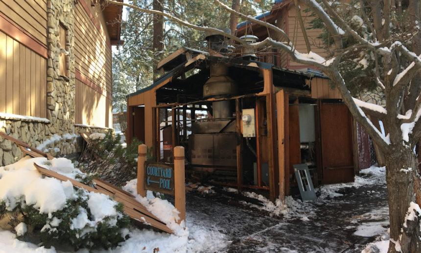 Shilo Inn Fire Bend Fire