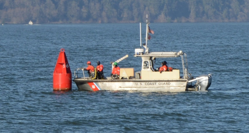 Coast Guard Astoria Trailer-able Aides to Navigation Boat