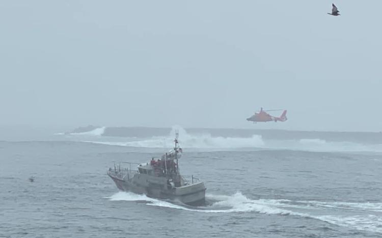 Coast Guard search KPTV