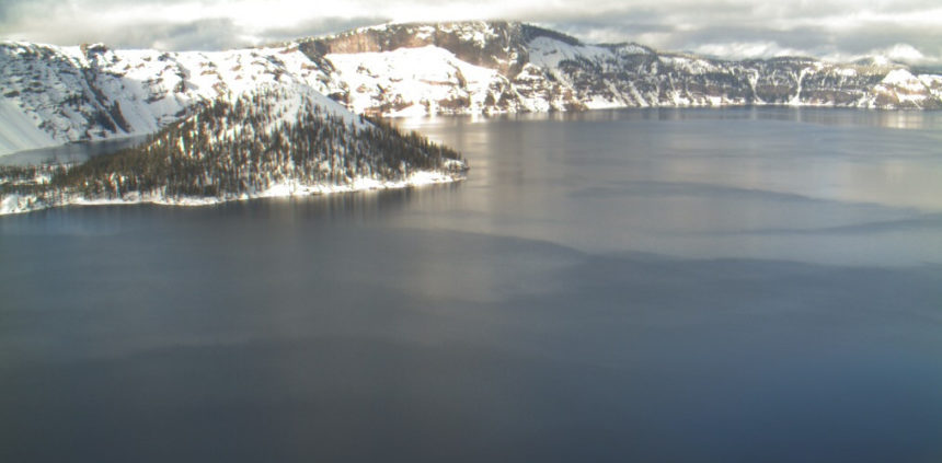 Crater Lake webcam 1-15-1