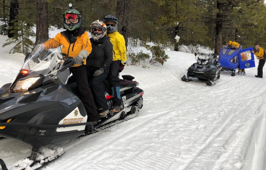 DCSO SAR Meissner XC skier rescue 1-19-2