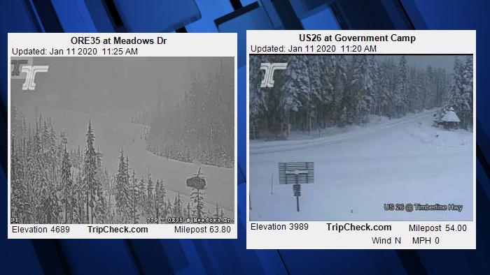 OR 35 Hwy 26 Mount Hood