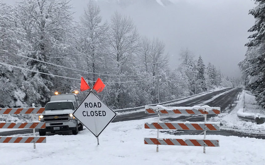 Stevens Pass closure KING5