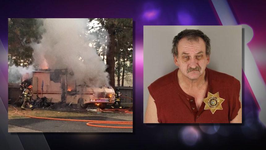 Crown Villa RV arson fire LINDLEY, BRYAN DALE
