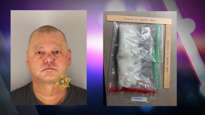 Highway 97 traffic stop leads to meth, Calif. man's arrest - KTVZ