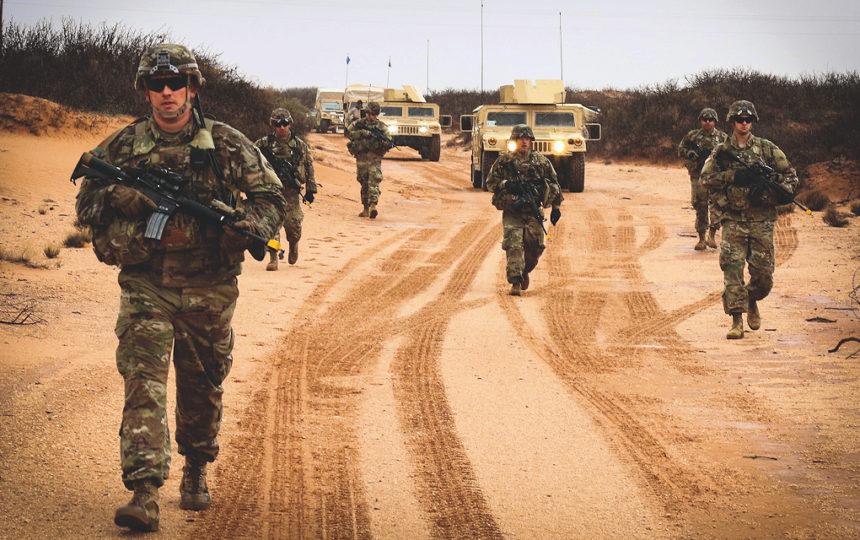 Oregon Army National Guard Fort Bliss Kosovo training
