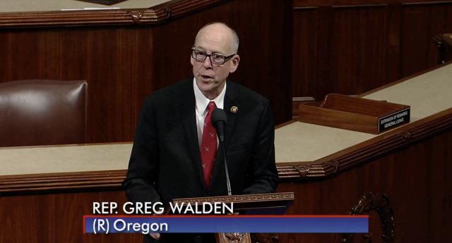 Rep. Greg Walden on House floor 2-13
