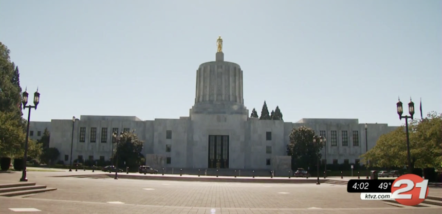 Oregon Capitol generic 2020