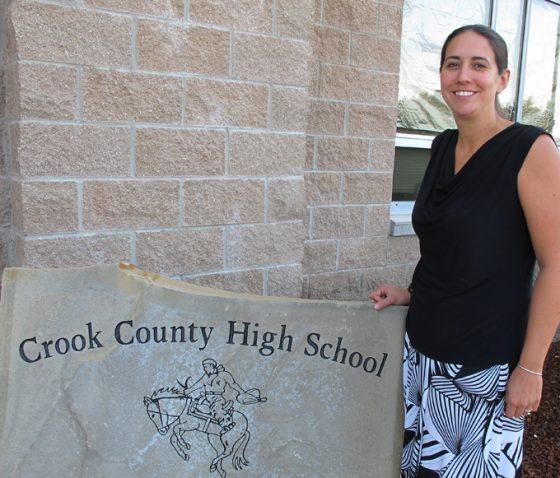 Crook County HS Principal Michelle Jonas