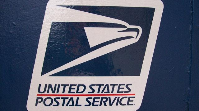 Postal Service logo mailbox