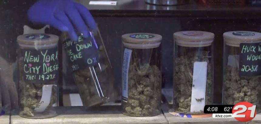 Oregon has record-breaking month in marijuana sales - KTVZ