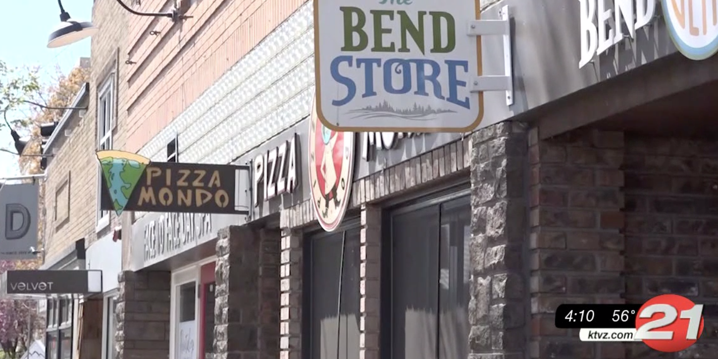 bend downtown business