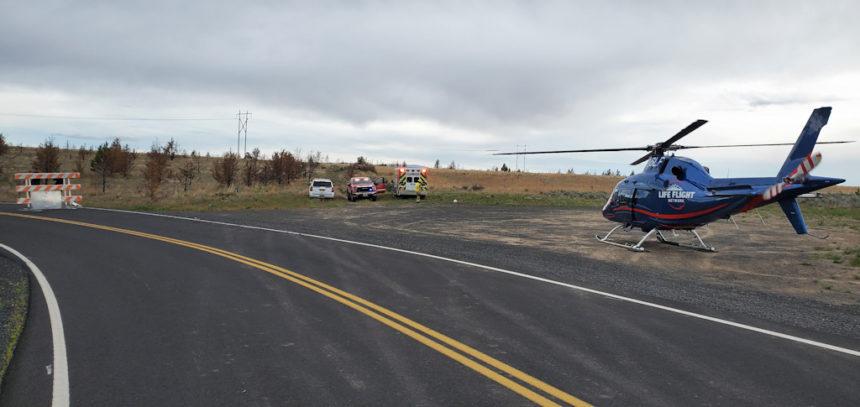 Crash Pelton Dam Road Elk Drive JCFD-1