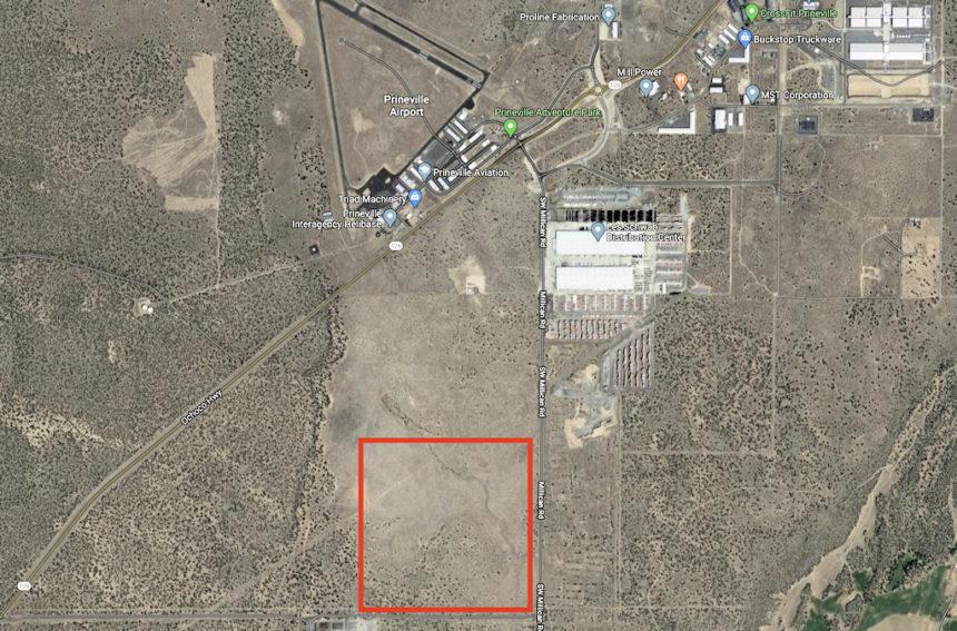DSL Prineville land sale Birch LLC map 522