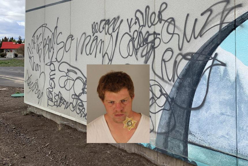 La Pine graffiti GARRETT, ANDREW
