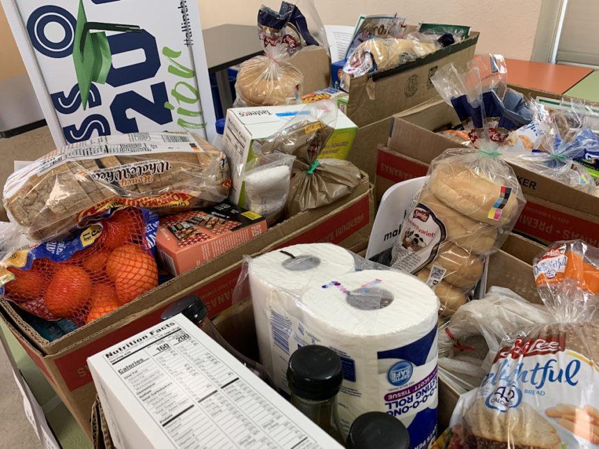 Redmond Cares food donations