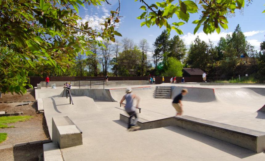 Redmond Skate Park city of Redmond