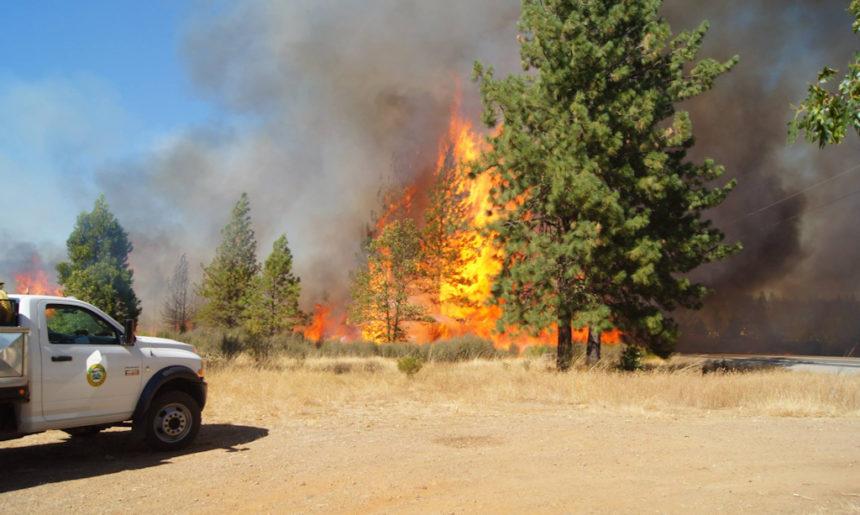 S. Oregon fire 2016 ODF