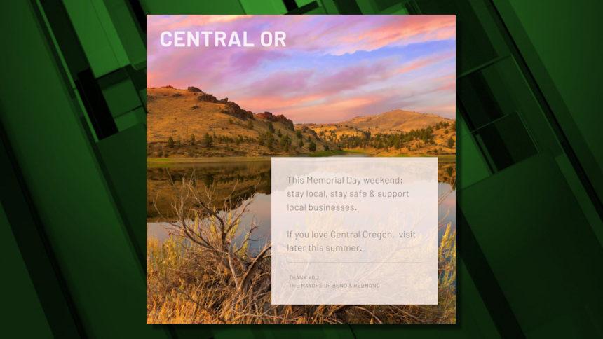 Visit later Central Oregon Gov. Brown