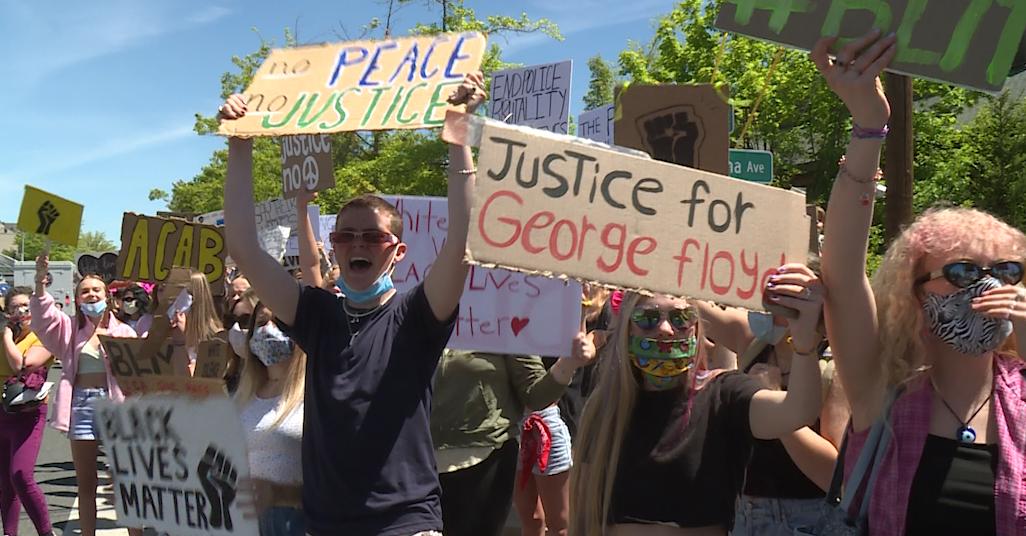 george floyd rally