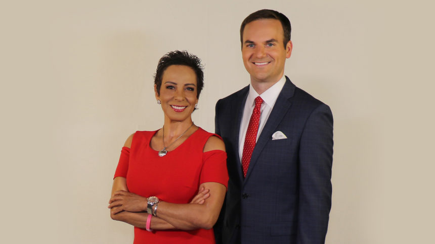 Estela Casas and Erik Elken