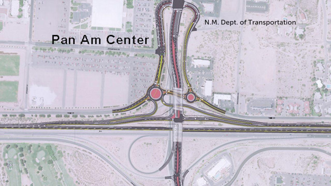 Las Cruces I-25 interchange