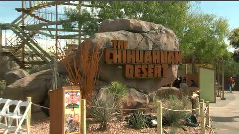 El Paso Zoo Chihuahuan Desert