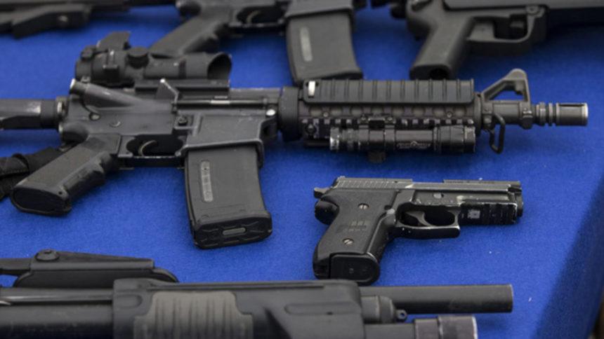 Firearms, guns, weapons