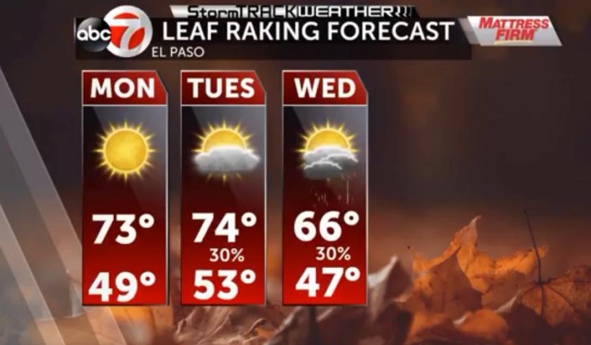 Leaf Raking Forecast