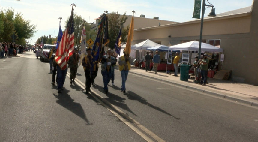Las Cruces Veterans Day parade