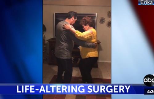 Couple dances months after surgery