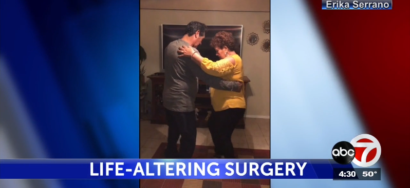 Couple dances months after surgery