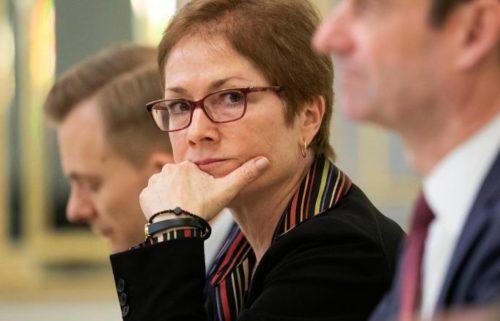 Ambassador to Ukraine Marie Yovanovitch