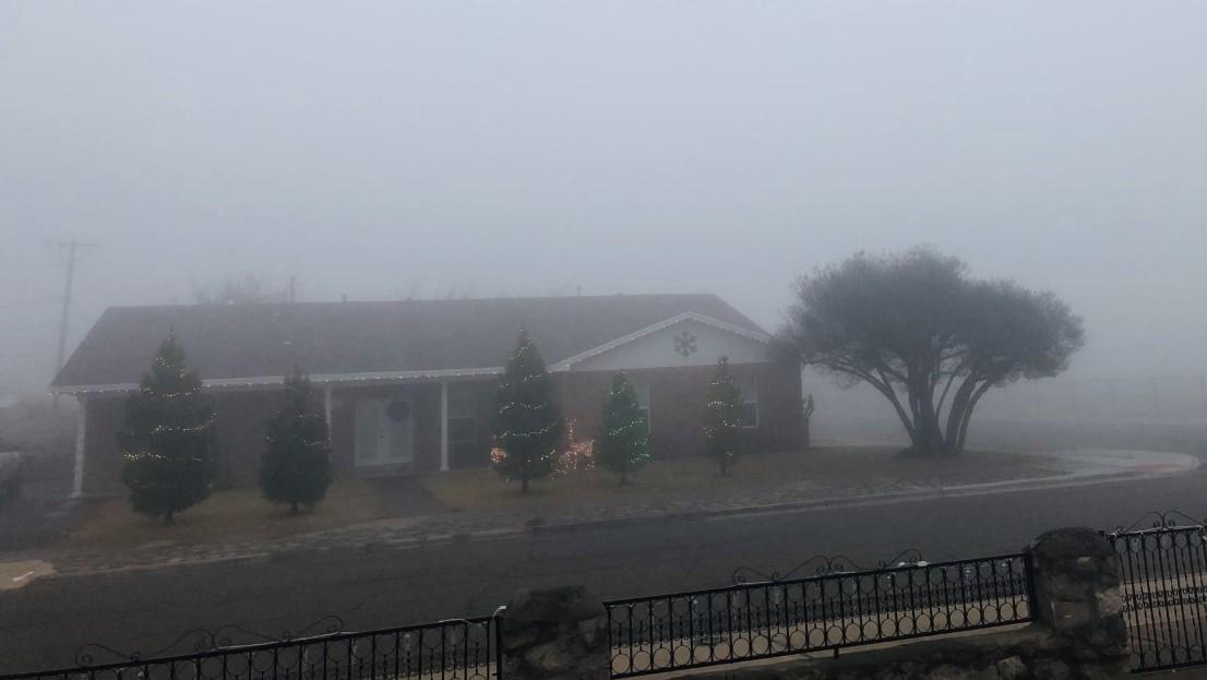 Fog - foggy weather