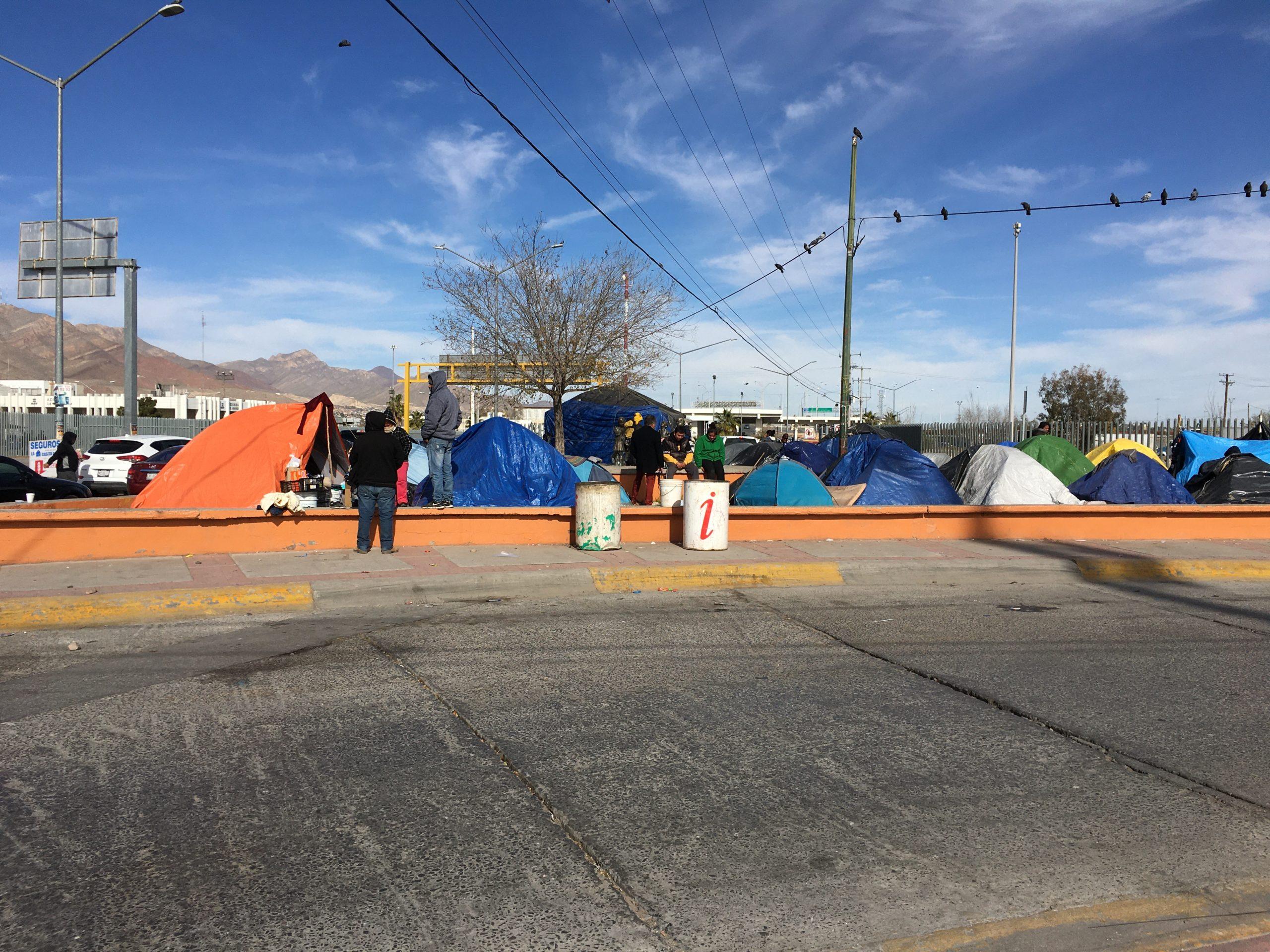 Migrant Camp in Juarez