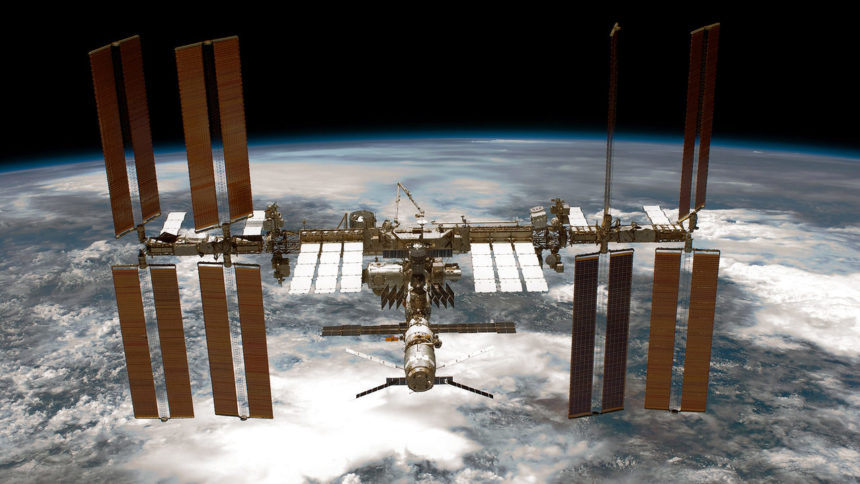 ISS International Space Station NASA photo