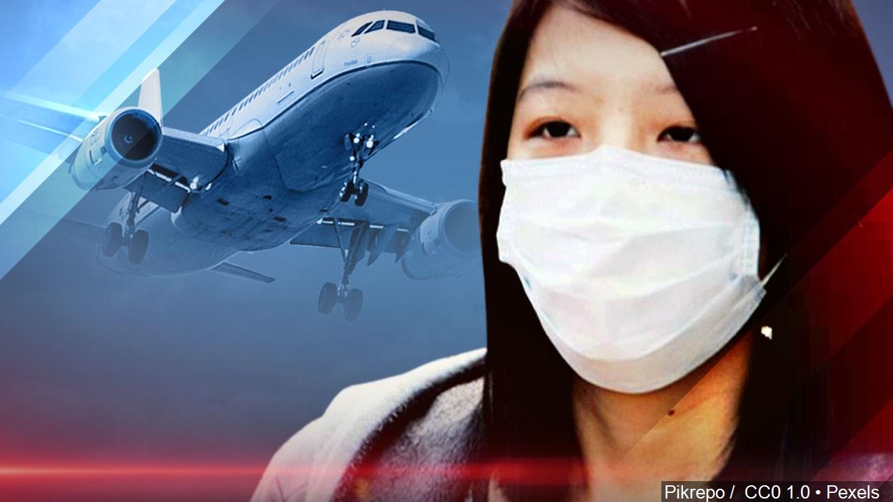 coronavirus air travel