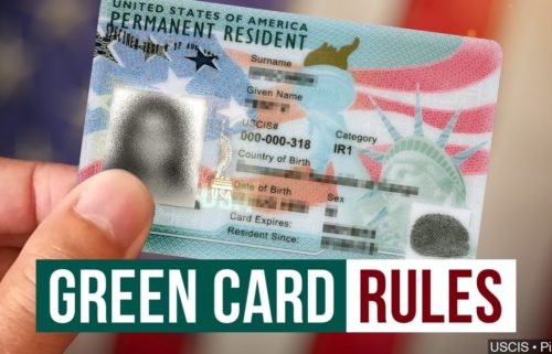 green card rules